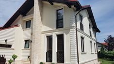 Proiect Casa Rezidentiala Arges – Profile Decorative Garage Doors, Exterior, House Design, Windows, Outdoor Decor, Profile, Houses, Home Decor, Facades