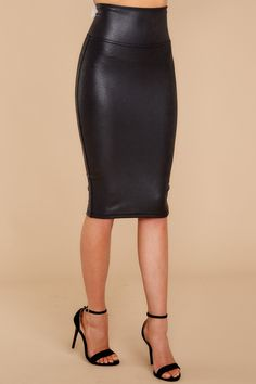 a78fa977f4fd 25 Best Faux leather pencil skirt images