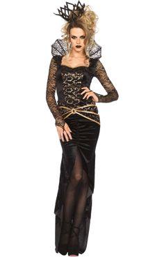 Leg Avenue Deluxe Evil Queen Costume   Jokers Masquerade