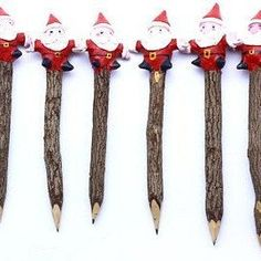 10 color wooden color pencils twig tamarind sticks natural handmade length 13 cm