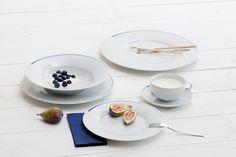 Dîner collection, Kahla porcelain Design: Barbara Schmidt Photo: Peter Eichler