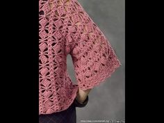 Crochet Cardigan| Shrug| Vest| Shawl Free |Crochet Patterns| 520 - YouTube