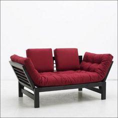Asahi, futon rouge
