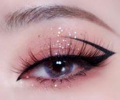 Edgy Makeup, Makeup Eye Looks, Eye Makeup Art, Cute Makeup, Pretty Makeup, Doll Eye Makeup, Grunge Makeup, Maquillage Yeux Cut Crease, Korean Eye Makeup