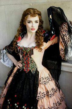 Christine's Don Juan dress