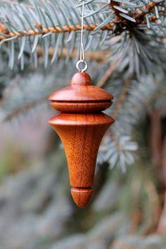 Wooden Christmas Tree Ornament by markjmuellerdesigns on Etsy, $16.00