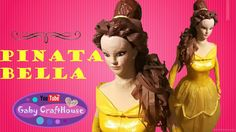 piñata Bella Bella, Home Crafts, Youtube, Disney Characters, Fictional Characters, Disney Princess, Movies, Movie Posters, How To Make