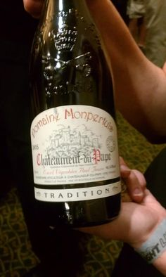 Exclusive taste of Chateaux du Pape 2005 that was served at the Wine Fest reserved tasting. Courtesy of Synergy Fine Wines.
