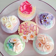 まるで本物♡お花畑みたいなカップケーキが驚くほど可愛い*にて紹介している画像