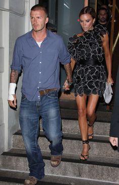 Beckham's ❀ love them! Love this evening look. So girly n flirty.