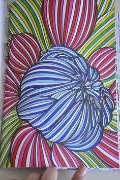 kleurboek voor volwassenen ingekleurd - Google zoeken