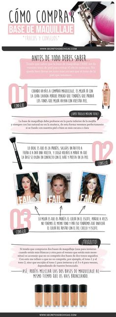 ¿Sabes qué tipo de base de maquillaje debes aplicarte? Diy Makeup, Makeup Tools, Face Makeup, Makeup Ideas, Make Up Tricks, Beauty Consultant, Tips Belleza, Beauty Make Up, Makeup Cosmetics