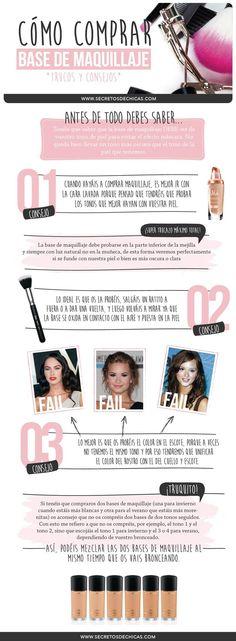 ¿Sabes qué tipo de base de maquillaje debes aplicarte?