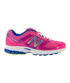 Look at this #zulilyfind! Pink 730 Leather Running Shoe by New Balance #zulilyfinds