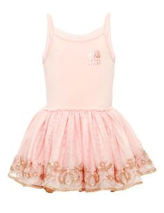 The Royal Ballet™ Cotton Rich Girls Dress (1-7 Years)   M&S