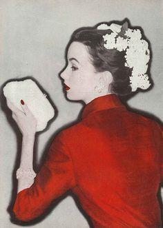 Elsa Martinelli. Vogue, February 1955.