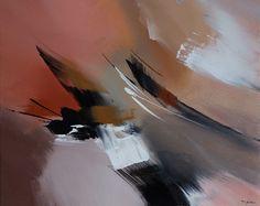 """Couleurs d'automne"", Pintura Abstrato original por Paul  Mathieu"