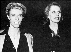 I never found Angela Bowie's androgynous looks all that appealing, but there was something glittering and wonderful about her and David in . Angie Bowie, David Bowie, Androgynous Look, Tv Show Music, The Thin White Duke, Sound & Vision, Now And Forever, Glam Rock, Twiggy