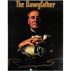 Memory Lane...UW Huskies! Don James Washington Huskies The Dawgfather 19.5'' x 26.5'' Poster