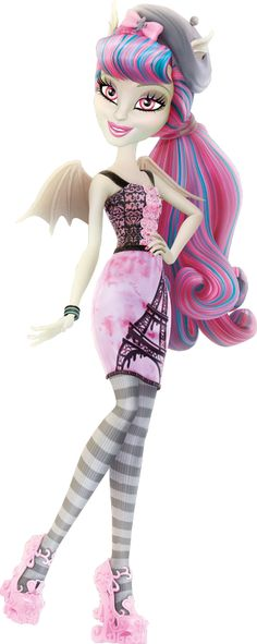 I HAVE HER!!! Rochelle goyle scaris MONSTERHIGH