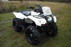 White Honda rancher