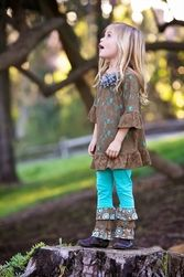 Trish Scully Child Circle Safari Lace Shift Dress-Designer Girl Clothes only $46.00 - New Items