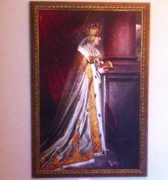 Queen Marie of Romania - portrait Romanian Royal Family, Brasov Romania, Queen Mary, Descendants, Edinburgh, Amen, Royalty, Paintings, History