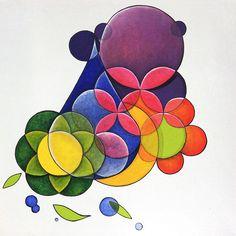 """Artes plásticas """"Dois às Três"""" do artista plástico brasileiro Quim Alcantara http://quim.com.br/dois-as-tres/"""