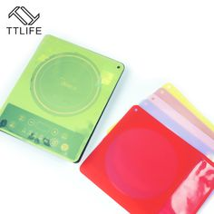 4YANG Silicone Induction Cooker Protection Pad Waterproof Heat pad Eco-Friendly Translucent Food Grade Silicone Mat #Affiliate