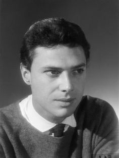 A young Georges Moustaki