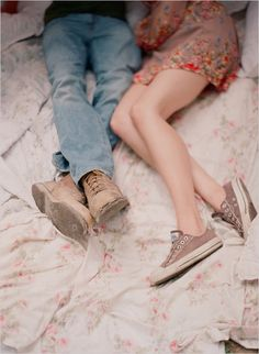 why are legs and feet so charming in photos? love it!  photo by  @Elizabeth Messina