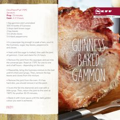 We're celebrating St. Patrick's Day with this delicious Neff recipe for Guinness Baked Gammon. Slante!