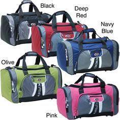 @Overstock - Pack everything you need and have room for more with this stylish carry on duffel bag. Multiple zippered pockets make this travel companion easy to organize, and its detachable non-slip shoulder strap will keep it safely on your shoulder.http://www.overstock.com/Luggage-Bags/CalPak-Hollywood-22-inch-Chic-Carry-on-Unisex-Polyester-Duffel-Bag/3443010/product.html?CID=214117 $20.99