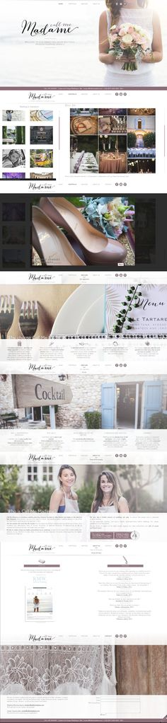 Web site www.callmemadame.com, French wedding planner in Bali. Webdesign, parallax, and dynamic gallery created by Soufiane Benrazzouk, AREXEL. mail@arexel.com www.pinterest.com/callmemadamewed