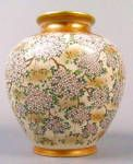 Click here to enlarge image and see more about item 6789: Museum quality Japanese porcelain satsuma vase
