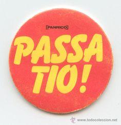 CROMO TROQUELADO - PANRICO - PASSA TIO!
