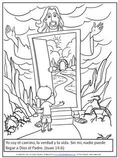 Versículos Clave de la Biblia ... Bible Activities For Kids, Bible Resources, Sunday School Activities, Bible For Kids, Faith Crafts, Bible Crafts, Images Bible, Jesus Teachings, Child Sponsorship