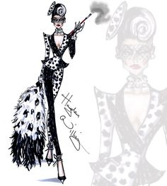 "Cruella de Vil collection by Hayden Williams ""Spot On Dahling"""