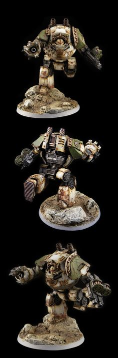 DEATH GUARD LEGION CONTEMPTOR DREADNOUGHT