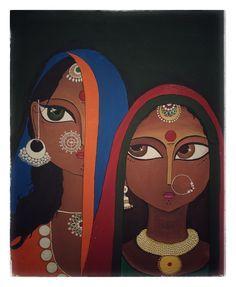 Rajasthani Art, Rajasthani Painting, Madhubani Art, Madhubani Painting, Indian Folk Art, Art Africain, India Art, Indian Art Paintings, Buddha Art