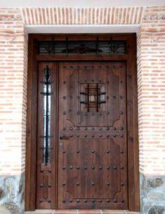 Puertas rusticas viajes y turismo pinterest articles - Verjas de madera ...
