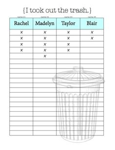 24 Best Roommate Chore Charts Images On Pinterest Cleaning Cleaning Hacks And Cleaning Schedules