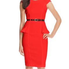 Never worn XOXO business professional dress Never worn orangish peachish color dress. XOXO brand size 5/6 fits a small/medium XOXO Dresses Midi
