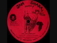 African Princess - Jah Children Cry 12' -1980