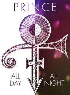 Prince all day ~ all night poster. Prince Concert, Prince Tattoos, Silver Tattoo, Prince Images, Prince Of Pop, The Artist Prince, Prince Purple Rain, Dearly Beloved, Roger Nelson