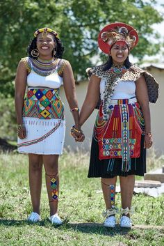 Zulu Traditional Attire, South African Traditional Dresses, African Traditional Wedding Dress, Traditional Wedding Attire, Traditional Outfits, Traditional Weddings, African Dresses For Kids, Latest African Fashion Dresses, African Print Dresses