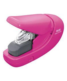 Look what I found on #zulily! Pink Staple-Free Stapler #zulilyfinds