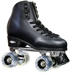 New Epic Classic Black  Smoke Light Up HighTop Quad Roller Skates w MultiColor LED Lighted Wheels Mens 12 >>> Want additional info? Click on the image. (This is an affiliate link)
