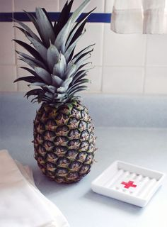 Pineapple in my kitchen