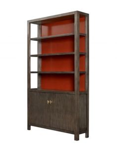 Single Door Narrow Model 19th Century Sweet-Tempered Antique French Hunt Bookcase/cabinet